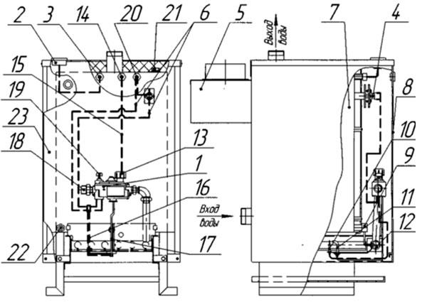 Теплообменники газовых котлов ишма Кожухотрубный конденсатор ONDA C 14.305.1000 Липецк