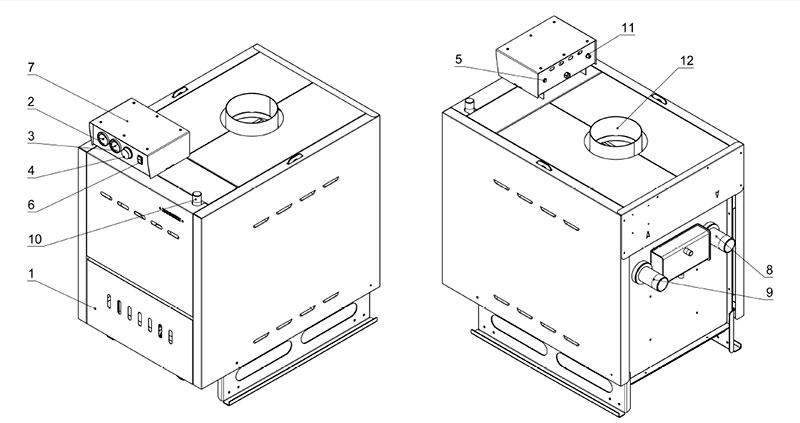 инструкция на котел Rs A300 - фото 2