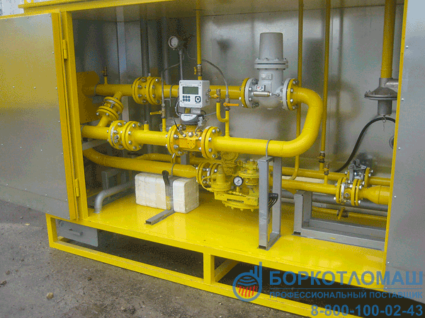 Пункт учёта газа серии ПУГ-Р-650-Р